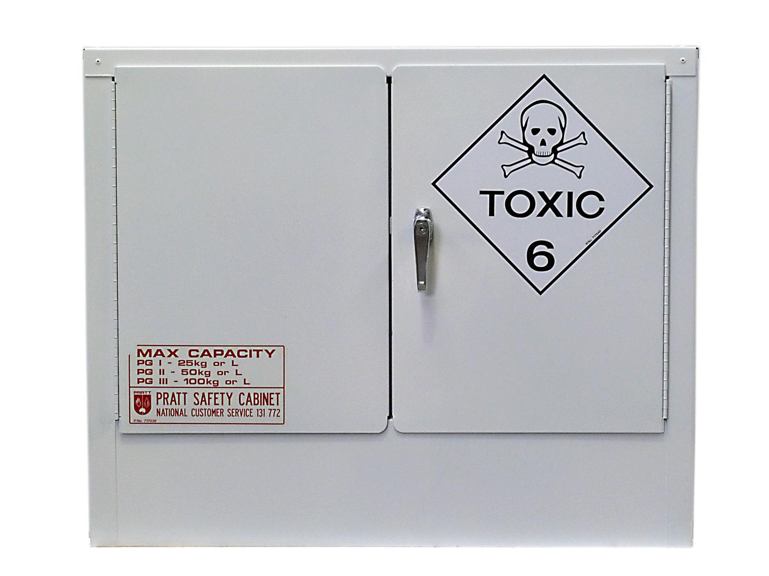 Toxic Substances Cabinet