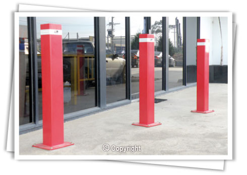 Fixed Bollards - Surface Mount