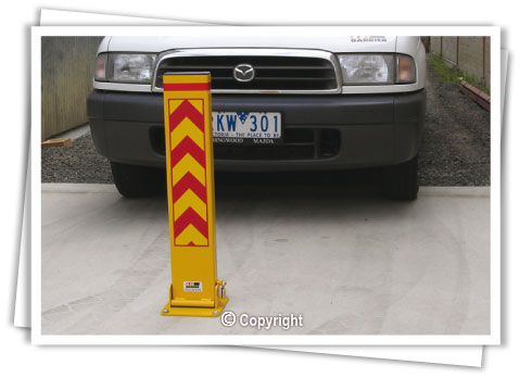 Fold Down Bollards