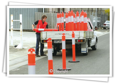 T-Top bollards