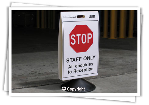 Portable Sign System