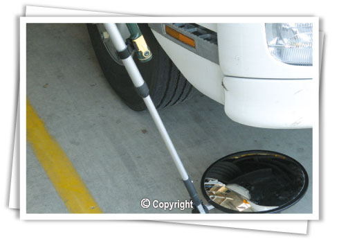 Vehicle Inspection Mirrors