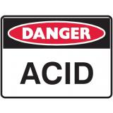 Mining Site Sign - Acid