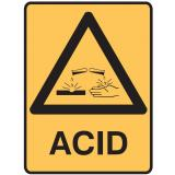 Hazardous Substance Signs - ACID