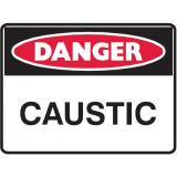 Mining Site Sign - Caustic