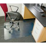 PVC Under-desk Chair Mat - 920 x 1220 mm - MINIMUM BUY 6