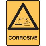 Warning Signs - Corrosive