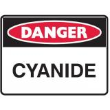 Mining Site Sign - Cyanide