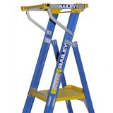 Fibreglass 150kg Platform Ladders with Safety Gate