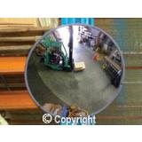 Indoor Wide-Angle Convex Mirrors - 300 to 800 mm Diameter