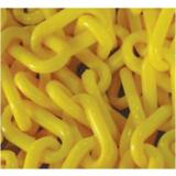 Yellow 6mm x 25mtrs Plastic Safety Chain