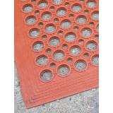 Red Anti Fatigue (Oil Resistant) Floor Mat - 910 x 1520 x 13 mm