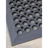 Black Anti Fatigue Floor Mat - 910 x 1520 x 13 mm
