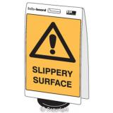 'Slippery Surface' Double Sided Info-Board - 600 x 450 mm