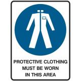 Mandatory Sign - Protective Clothing Must Be Worn In This Area