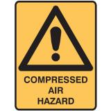 Warning Signs - Compressed Air Hazard
