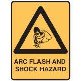 Lockout Signs - Arc Flash And Shock Hazard