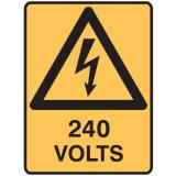 Electrical Hazard Signs - 240 Volts