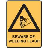 Lockout Signs - Beware Of Welding Flash