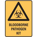 Medical Biohazard Signs - Bloodborne Pathogen Kit