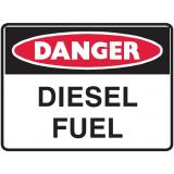Mining Site Sign - Diesel Fuel
