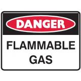 Danger Sign - Flammable Gas