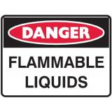 Danger Sign - Flammable Liquids