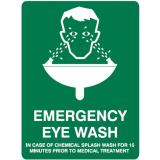 Emergency Signs - Emergency Eye Wash ...