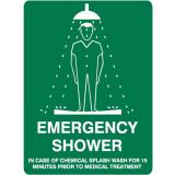Emergency Signs - Emergency Shower