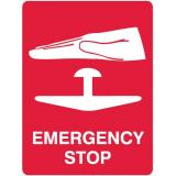 Emergency Signs - Emergency Stop