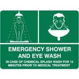 Emergency Signs - Emergency Shower And Eye Wash
