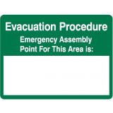 Emergency Signs - Evacuation Procedure Emergency ...