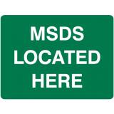 Emergency Signs - MSDS Located Here