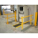 1 Metre Channel Rail Forklift Separation Module