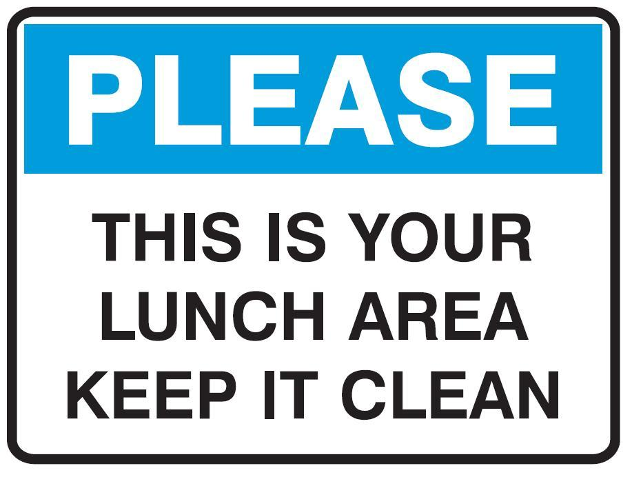 clean dishes sign - photo #14